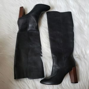 New Sz 5 Ted Baker Haruto Leather Knee High Boots
